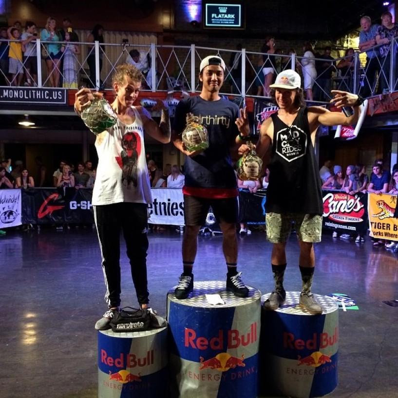 Yohei Uchino wins 2014 Voodoo Jam