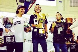 Yohei Uchino wins Overground 2014 in Brazil