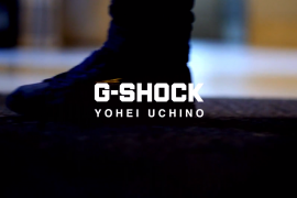 "CASIO TEAM G-SHOCK YOHEI UCHINO BMX FLATLAND""BREAK THROUGH"""