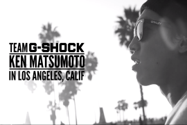 CASIO TEAM G-SHOCK BMX STREET KEN MATSUMOTO IN LOS ANGELS