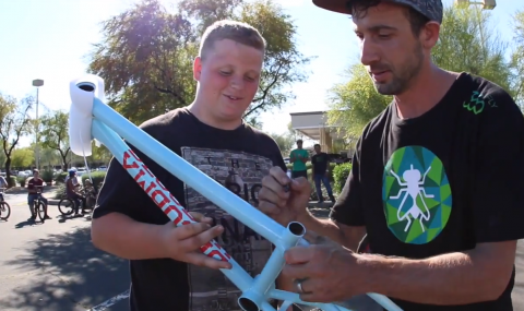 DECOBMX in Arizona Terry Adams Chad DeGroot 2015