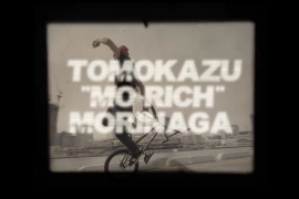 "TOMOKAZU ""MO-RICH"" MORINAGA Welcome to SPACEARK"