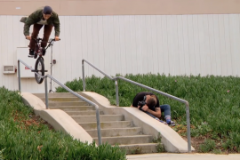 Garrett Reynolds – Unreal BMX street riding