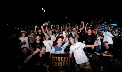 """世界5都市で同時開催されたMonster EnergyのBMXジャムセッション""""The Street Series"""""""