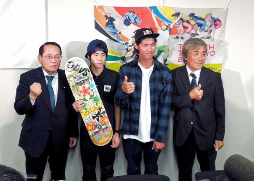 SKATE / SURFが東京オリンピックに