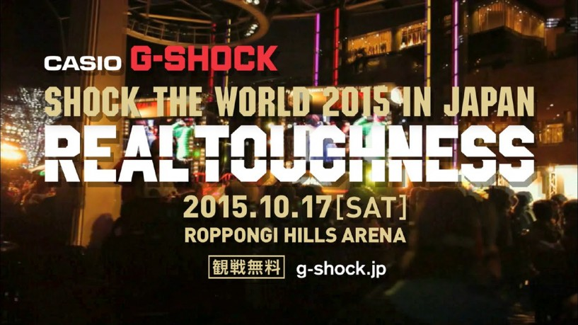 SHOCK THE WORLD 2015 IN JAPAN REALTOUGHNESS