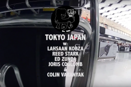 BMX IN TOKYO W/ COLIN VARANYAK, LAHSAAN KOBZA, ED ZUNDA, REED STARK, & JORIS COULOMB – E-LOG 001